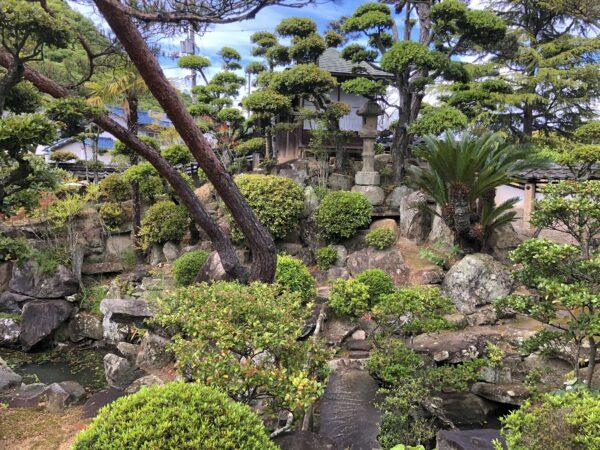 福山市ぬまくま文化館(枝広邸)庭園