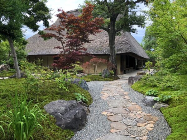 パンとエスプレッソと嵐山庭園