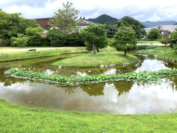 大内氏館跡庭園