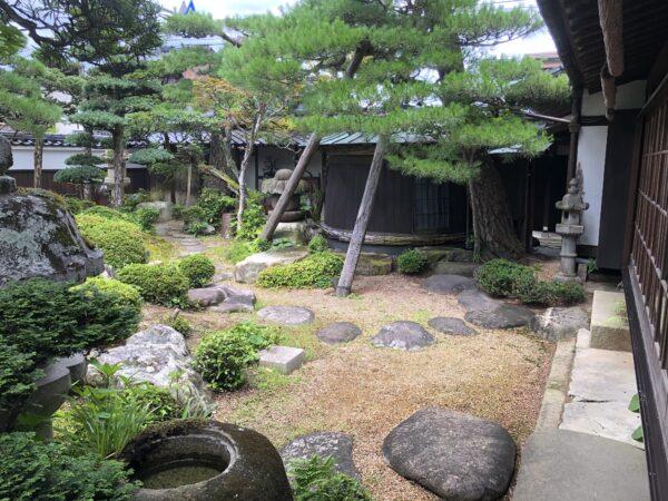 山口ふるさと伝承総合センター(旧野村家住宅)庭園