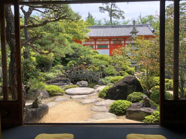 耕三寺 潮聲閣庭園